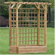 7 x 2 Waltons Pergola Flower Box Set