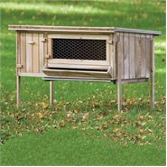 Lobbes Timber Rabbit Hutch