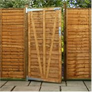 5ft x 3ft Waltons Lap Wooden Garden Gate
