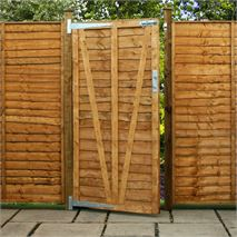 6ft x 3ft Waltons Lap Wooden Garden Gate