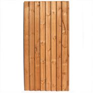 6ft x 3ft Waltons Feather Edge Wooden Garden Gate