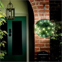 Pack of 2 Gardman Pre-Lit LED Topiary Ball