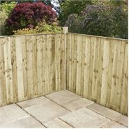 3 x 6 Waltons Pressure Treated Vertical Hit and Miss Fence Panel