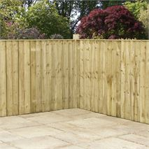 3 x 6 Waltons Pressure Treated Feather Edge Fence Panel