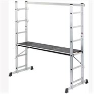 Draper Combination Aluminium Ladder & Platform