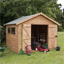 10 x 10 Waltons Groundsman Tongue and Groove Apex Workshop