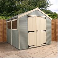 8' x 8' Mercia Ultimate Shed