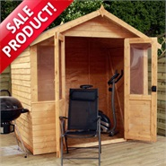 7 x 5 Traditional Double Door Summerhouse