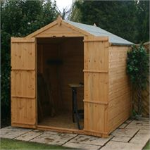 6 x 6 Waltons Shiplap OSB Apex - Windowless