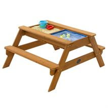 Plum Surfside Sand & Water Wooden Picnic Table