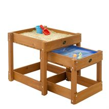 Plum Sandy Bay Wooden Sand Pit & Water Table