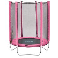 Plum® Junior Trampoline & Enclosure – Pink