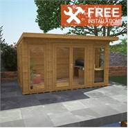 4m x 3m Waltons Insulated Garden Room - FREE Installation