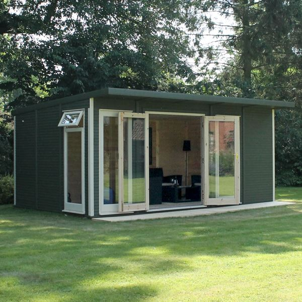 3m x 5m waltons insulated garden room for Garden room definition
