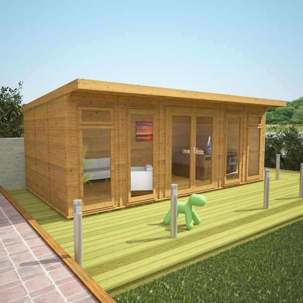 3m x 6m waltons insulated garden room for Kitchen design 6m x 3m