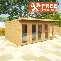 5m x 4m Waltons Insulated Garden Room - FREE Installation