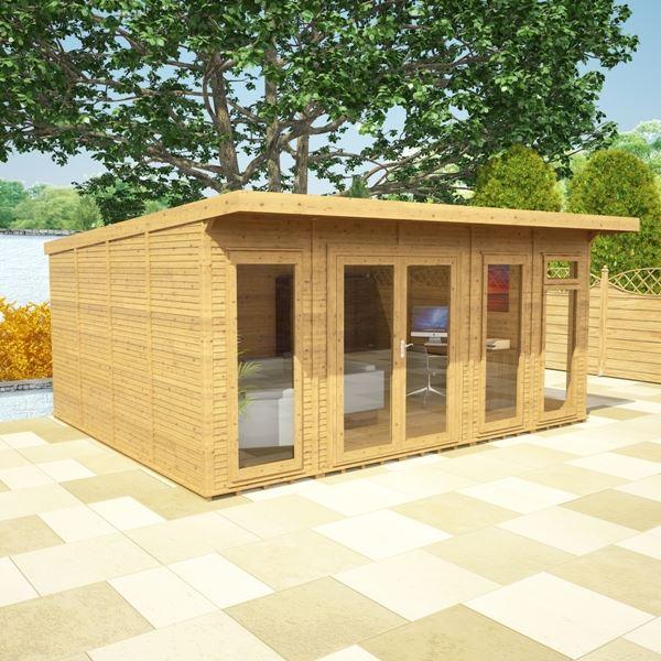 4m X 5m Waltons Insulated Garden Room