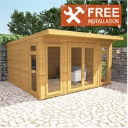 4m x 4m Waltons Insulated Garden Room - FREE Installation