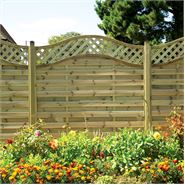 "5'11"" x 5' 11"" Elite St Melior Fence Panel"