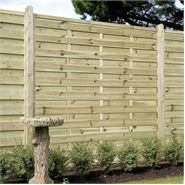 "5' 11"" x 5' 11"" Elite St Esprit Square Fence Panel"