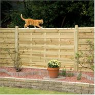 "3' 5"" x 5' 11"" Elite St Esprit Square Fence Panel"