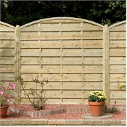 "5' 11"" x 5' 11"" Elite St Carne Fence Panel"