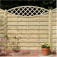 "5' 11"" x 5' 11"" Elite Eye Catcher Fence Panels"