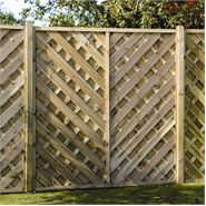 "5' 11"" x 5' 11"" Elite St Cyprien Fence Panel"