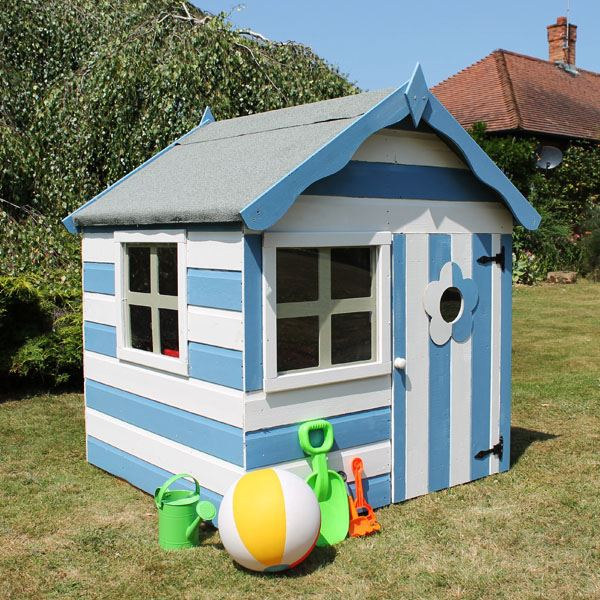 Free garden shed plans australia painted wooden for Wooden playhouse with garage