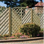 "5' 11"" x 5' 11"" Elite St Servan Fence Panel"
