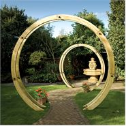 8ft Free Standing Flower Circle