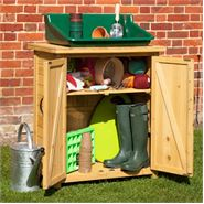 VegTrug Wooden Garden Storage Box