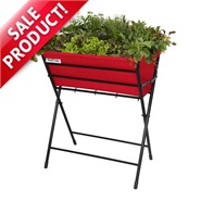 Red VegTrug Poppy Planter