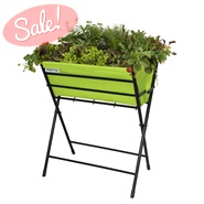 Lime Green VegTrug Poppy Planter