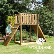 The Woodland Trust Willow Climber Platform