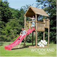 The Woodland Trust Hawthorne Tower Climbing Frame