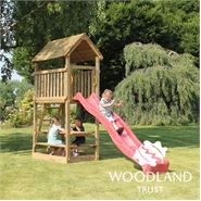 The Woodland Trust Elder Tower Climbing Frame