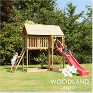 Sherwood Chestnut Tower Climbing Frame