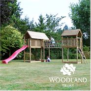 The Woodland Trust Old Oak Tower Climbing Frame