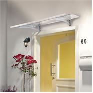 Lucida 1350 Clear Over Door Canopy