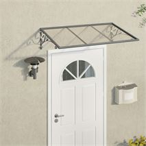 Palram Venus 1350 Clear Over Door Canopy