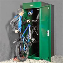 "2' 6"" x 3' 6"" Asgard Vertical Bike Locker"