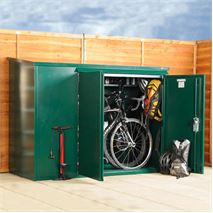 6 x 3 Asgard Addition Bike Storage Unit