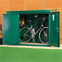 6 x 3 Asgard Annexe Metal Security Shed