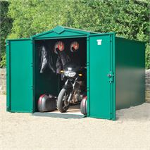 11 x 5 Asgard Motorcycle Secure Storage Garage Plus