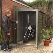 "4' 4"" x 8' 7""  Trimetals Motorcycle Garage"