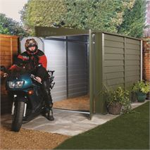 "5' 1"" x 8' 7"" Trimetals Motorcycle Garage"