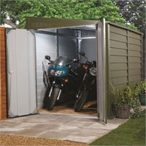 "5' 9"" x 8' 7"" Trimetals Motorcycle Garage"