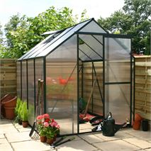 Greenhouse 4 x 6 Polycarbonate Extra Tall Clip Model