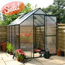 Greenhouse 4 x 6 Polycarbonate Extra Tall Model